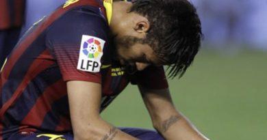neymar sedih