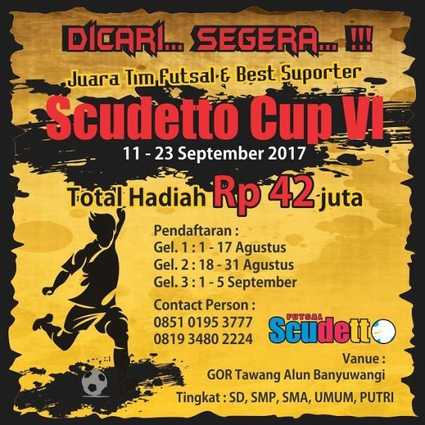brosur scudetto cup 2017