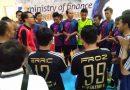 Hari Pertama Turnamen Futsal Hari Oeang Diwarnai Banjir Gol