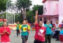 Target Penerimaan Pajak 2017 Tercapai, Pegawai KPP Madya Sidoarjo Penuhi Nazar