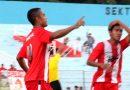 <span style='color:#ff0000;font-size:12px;'>Liga 3 Jatim 2018  </span><br> Wimba Sutan Hattrick, Deltras Menang Telak di Kandang Perseba Bangkalan