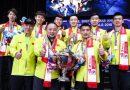 <span style='color:#ff0000;font-size:12px;'>Piala Thomas  </span><br> Kalahkan Jepang, Tiongkok Rebut Juara Piala Thomas ke-10