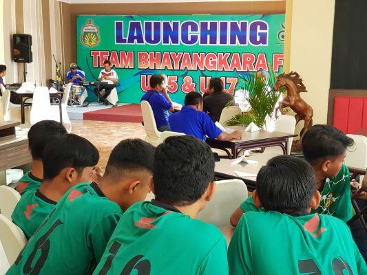 bhayangkara u 17 launching