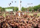Peduli Kelestarian Alam dan Satwa Liar, Kwarcab Pramuka Sidoarjo Lepas Puluhan Burung