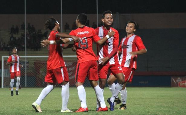 <span style='color:#ff0000;font-size:12px;'>Liga 3 Jatim 2018 </span><br> Wimba Sutan Dua Gol, Arif Ariyanto Satu Gol, Bawa Deltras Raih Kemenangan atas PSIL Lumajang