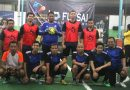 <span style='color:#ff0000;font-size:12px;'>Futsal Piala Kakanwil DJP Jatim II 2018  </span><br> Hasil Pertandingan Lengkap Babak Penyisihan dan Klasemen Akhir