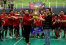 Futsal KPP Pratama Sidoarjo Selatan Rebut Juara Champions League Piala Kakanwil DJP Jatim II 2018