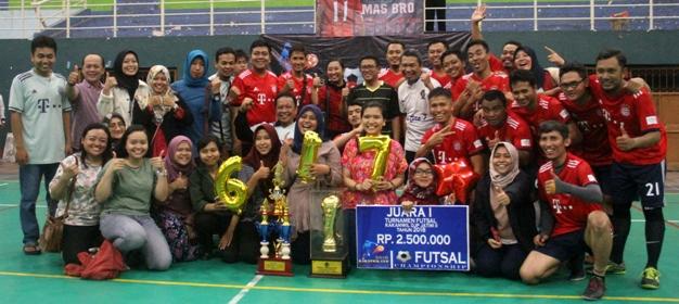 futsal pajak juara