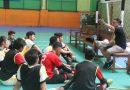 <span style='color:#ff0000;font-size:12px;'>LIMA Futsal 2018 </span><br> Pelatih Futsal Ubaya Sebut Semua Tim Grup B Memiliki Peluang Sama Besar Rebut Juara Grup
