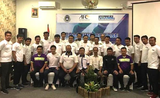 pelatih kursus level one afc