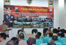 Polresta Sidoarjo Adakan FGD bersama KPU, Bawaslu, Dinas Kominfo dan Potmas
