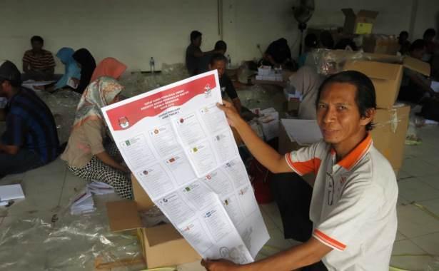 kartu suara pemilu