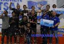 Tim Futsal Arjaws Juara Turnamen Muda Milenial Cup 2019