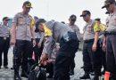 Kapolresta Sidoarjo Cek Kesiapan Personel Pengamanan TPS Pemilu 2019