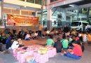 Kapolresta Sidoarjo Sahur On The Road Bersama Komunitas Angkutan dan Masyarakat di Terminal Bungurasih