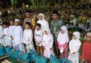 Lailatul Qiroah NU Surabaya, Gubernur Khofifah Pimpin Sholawat