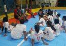 <span style='color:#ff0000;font-size:12px;'>Porprov Jatim 2019 </span><br> Futsal Putri Porprov Surabaya Kalah Telak dari NPS