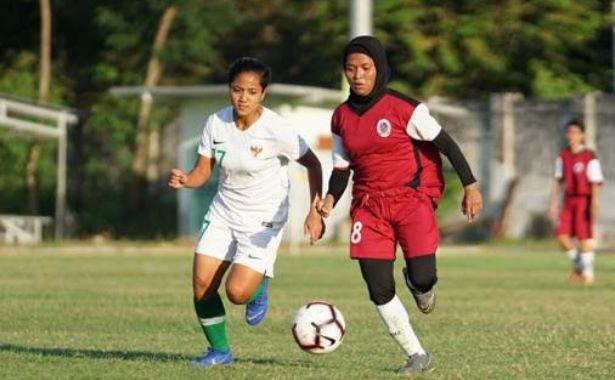 Akhiri Uji coba di Sidoarjo, Timnas Wanita Menang 3-0 Lawan Persida Putri