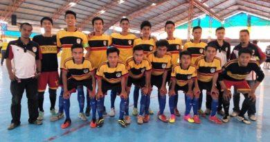Skuat Meta Futsal yang tampil di Liga Nusantara Futsal Jatim 2015.