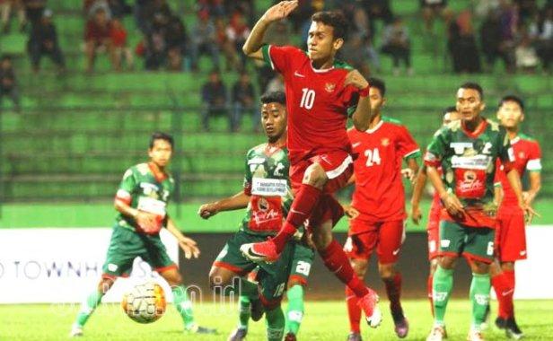 Timnas U 19 Tampil Menggila Kalahkan DPFF Malang United 5