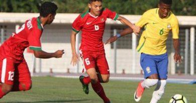 timnas indonesia u19 v brasil u 20