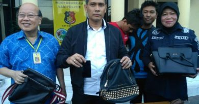 polrestabes sby pencuri mall