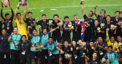 thailand juara sea games 2017 afc