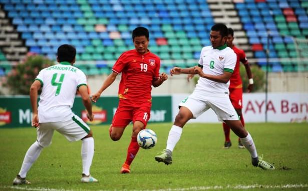 timnas u 19 vs myanmar aff 2017