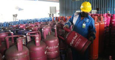 gas merah