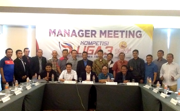 LIGA 3 2018 MANAGER meeting