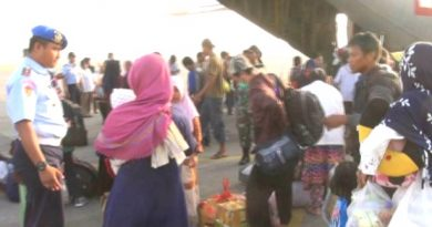 pengungsi palu dan donggala