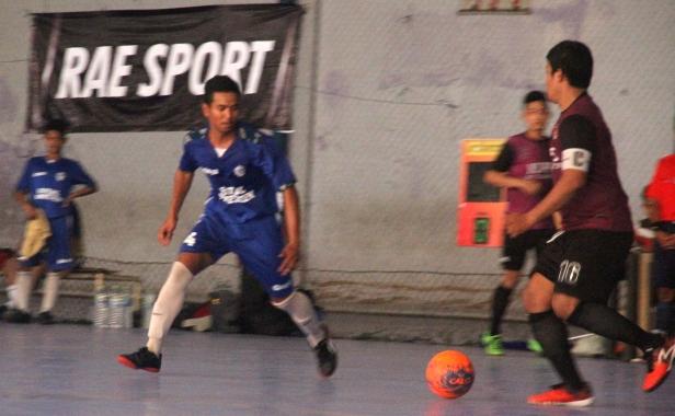 ghozali nisrina v taruna futsal