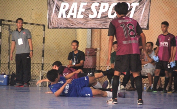 nisrina vs taruna futsal