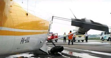 pesawat tergelincir
