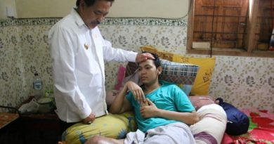 wabup sda n pasien kanker tulang