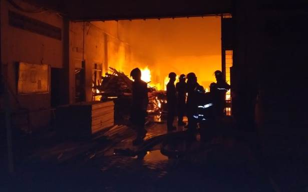 kebakaran kayu sda