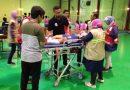 <span style='color:#ff0000;font-size:12px;'>Porprov Jatim 2019 </span><br> Laga Surabaya Kontra Banyuwangi Tempo Tinggi, Tiga Pemain Dilarikan ke Rumah Sakit