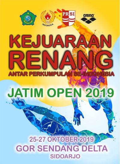 jatim open 2019 renang