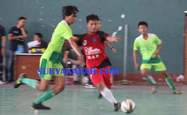 <span style='color:#ff0000;font-size:12px;'>Liga Internal Futsal Sidoarjo 2019  </span><br> Akademi Flaminio Susah Payah Kalahkan Yanitra FC Sukodono
