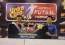 <span style='color:#ff0000;font-size:12px;'>Hydro Coco National Futsal Tournament  </span><br> Begini Komentar Best Player HCNFT Regional Surabaya, Dwi Cahyo