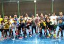 <span style='color:#ff0000;font-size:12px;'>Bojonegoro Futsal Tournament and Charity </span><br> Donzol Hadiri Latihan Terakhir Garuda Emas FC sebelum Tampil di Bojonegoro