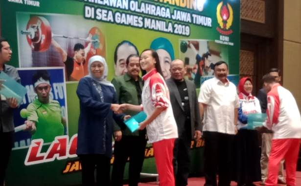 khofifah n atlet sea games
