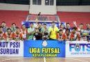 Kirana FC Pertahankan Juara, Banjir Gol di Final Liga Futsal Kota Pasuruan 2019