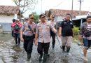 Dua Desa di Tanggulangin Masih Tergenang, Kapolresta Sidoarjo Cek Lokasi Banjir