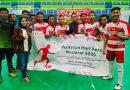 Empat Tim Futsal Kartar dan Tim Jurnalis Marakkan Turnamen Mini HPN 2020 di Sidoarjo, Ini Juaranya