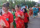 Civitas Akademika Sekolah Pembangunan Jaya 2 Sidoarjo Gelar Kirab Budaya