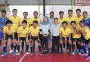 <span style='color:#ff0000;font-size:12px;'>Liga Futsal Surabaya 2020  </span><br> Bekuk Nisrina FC, Meta Futsal Kokoh di Puncak Klasemen