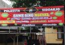 Polresta Sidoarjo Sebar Imbauan Stay at Home