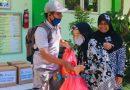 PPTQ Darul Fikri Sukodono Bantu Warga Terdampak Covid-19 di Sidoarjo dengan 130 Paket Sembako