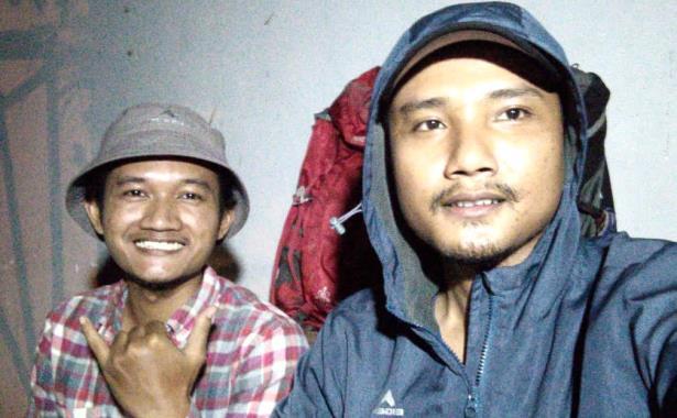Andry Tri Lesmana (kanan) dan Muhammad Faiz Kholilullah